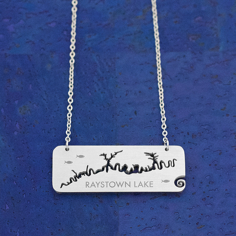 Raystown Lake Tag-style Necklace