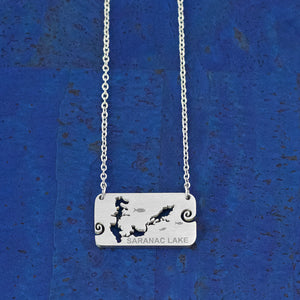 Saranac Lake Stainless Steel Necklace, by Close 2 UR Heart