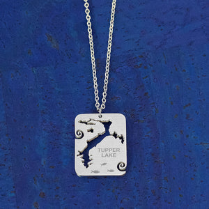Tupper Lake Stainless Steel Necklace