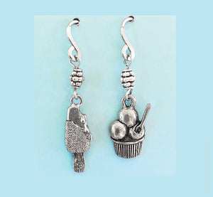 Ice Cream Bar and Sundae Earrings