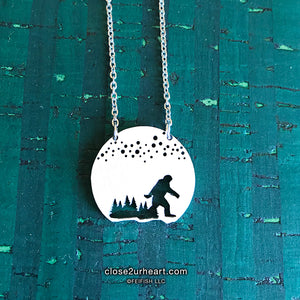 Sasquatch Necklace