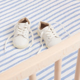 fitted cot sheet | organic cotton | straight to bed