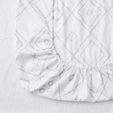 fitted cot sheet | organic cotton | the bébé beni