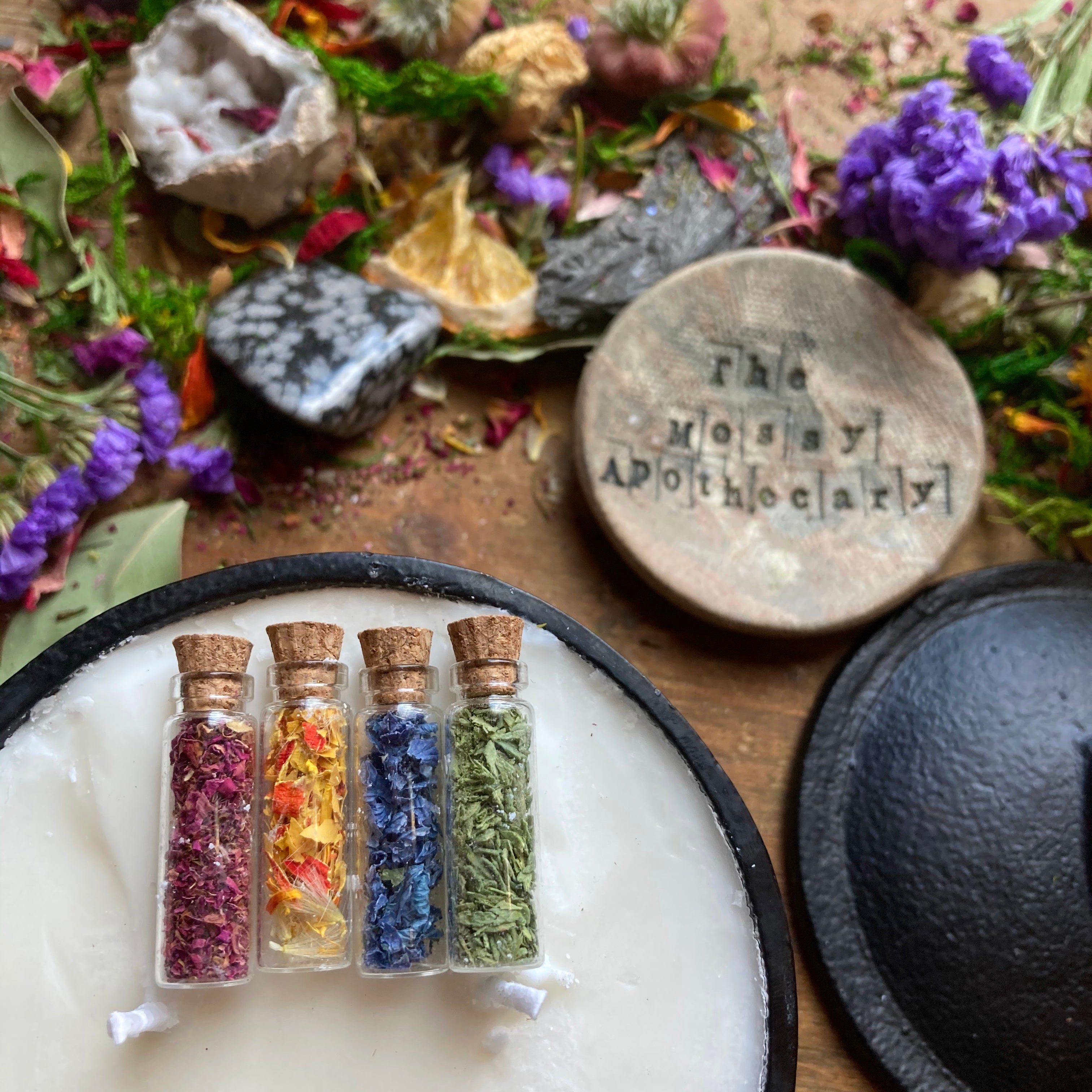 Conjuring Creativity ☆ Ritual Candle Set