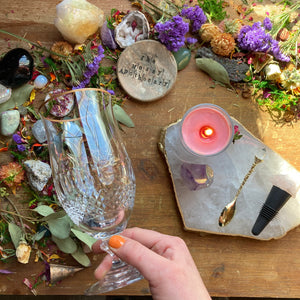 Enchanted Quartz Wine+Charcuterie Set