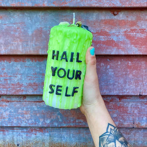 Hail Yourself Ritual Candle