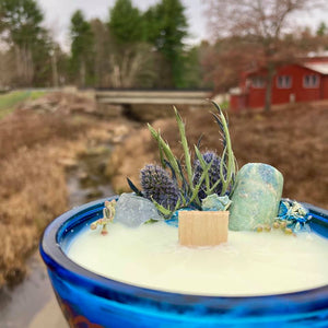 Winter Blues Ritual Candle