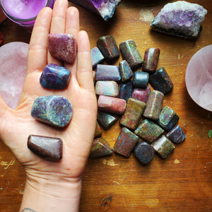 Ruby Kyanite ☆ Strength, Truth + Visualization