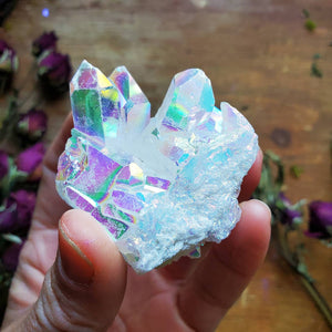 Angel Aura ☆ Harmonizing Crystal Cluster