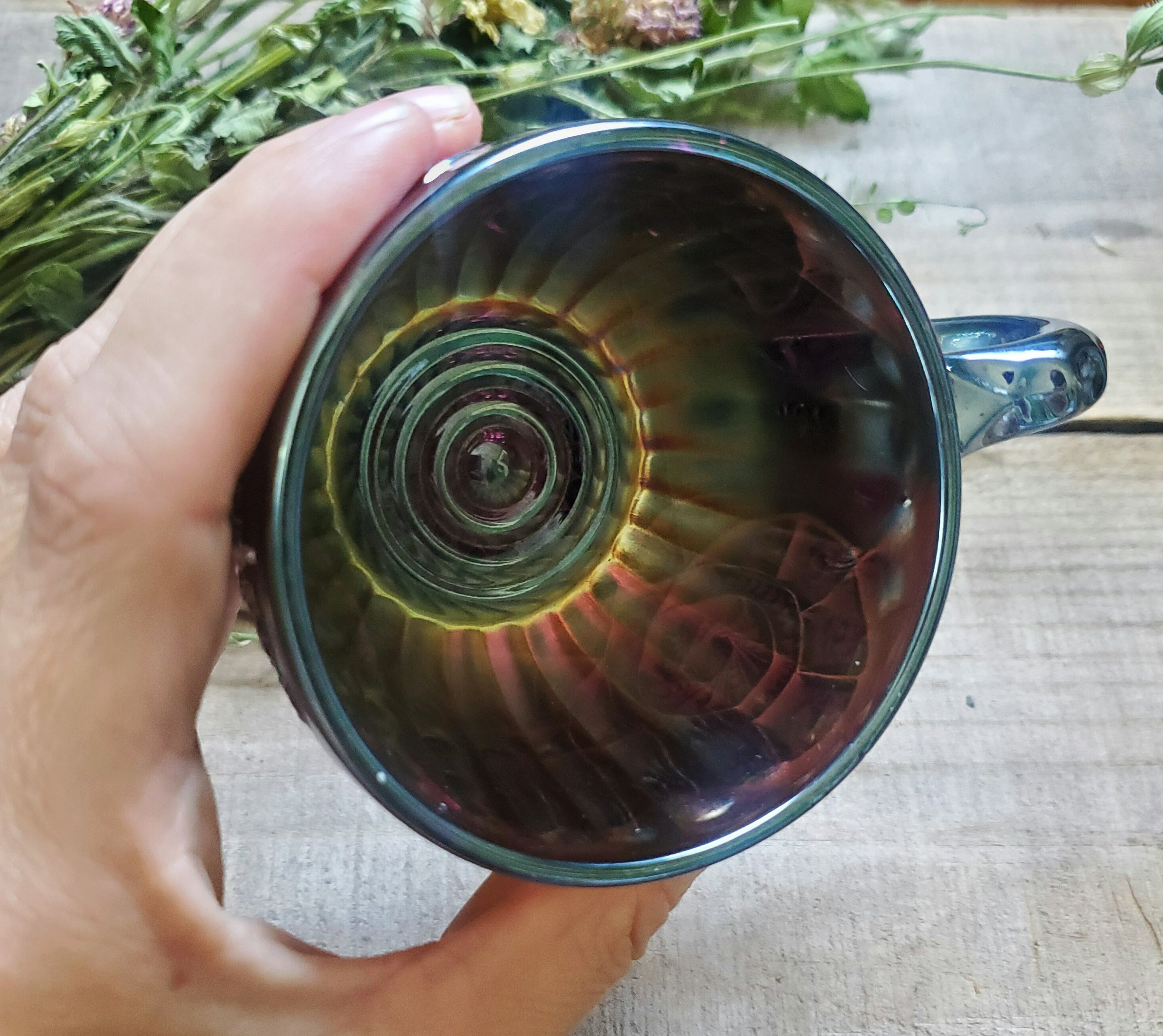 Ultra Rare 100+ year old Tea Cup + Divination Tea gift set