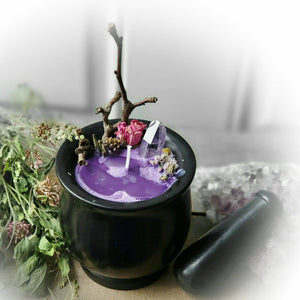 Earth Witch ☆ Spell Candle