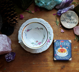The future is in your cup ☆ Tea Leaf Reading Set