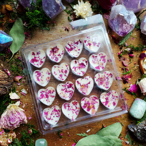 Cocoa Butter + Peony Bath Melts ☆ Body Honoring Spell