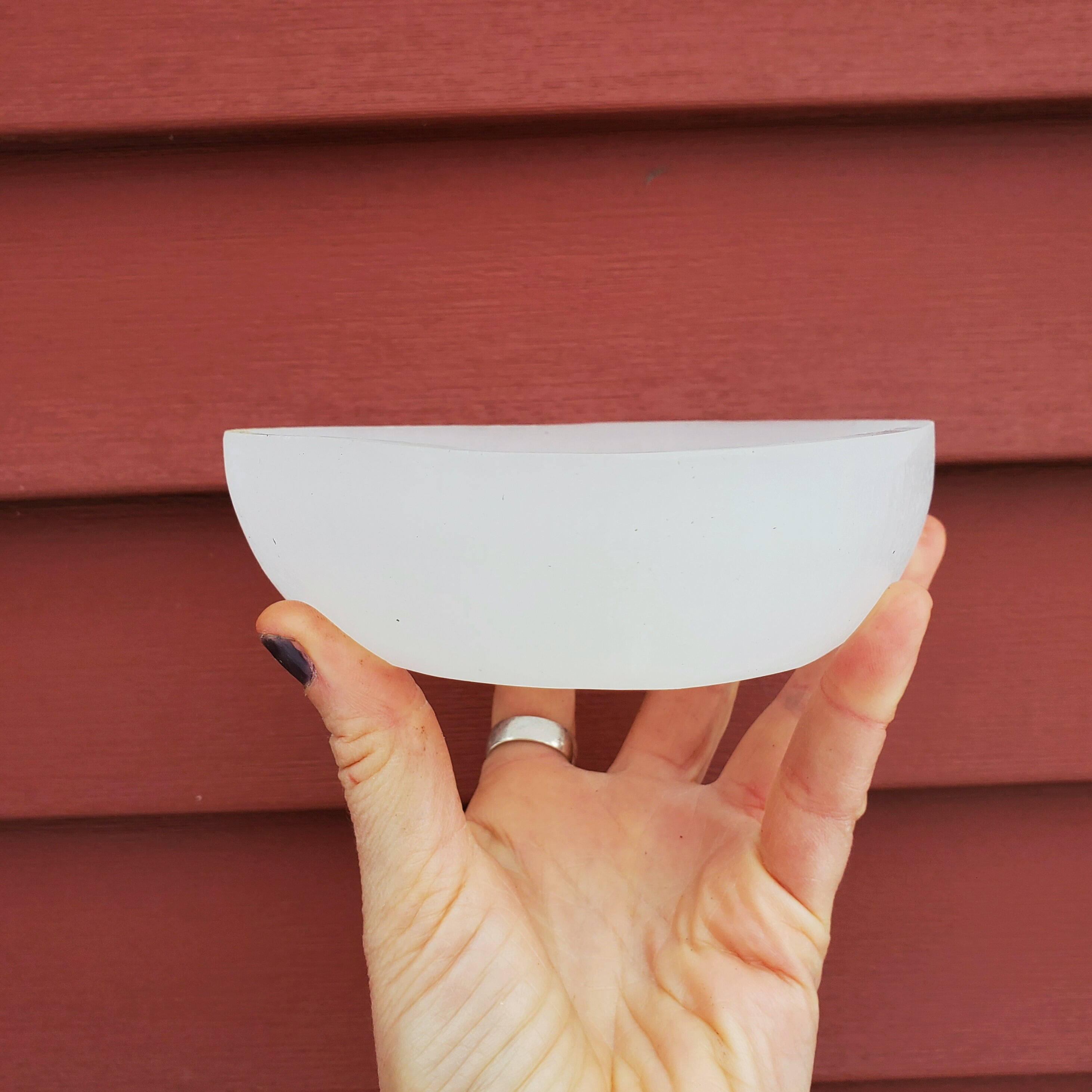 Selenite Bowl ☆ Cleanse + Clear