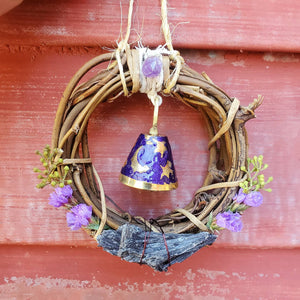 Mini Witches Bell Wreath ☆ Land + Home Protection