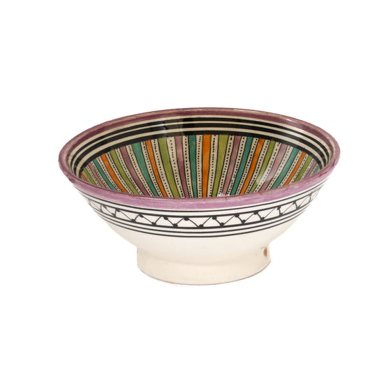 Sahara Serving Bowl, Purple Small - House of Morocco