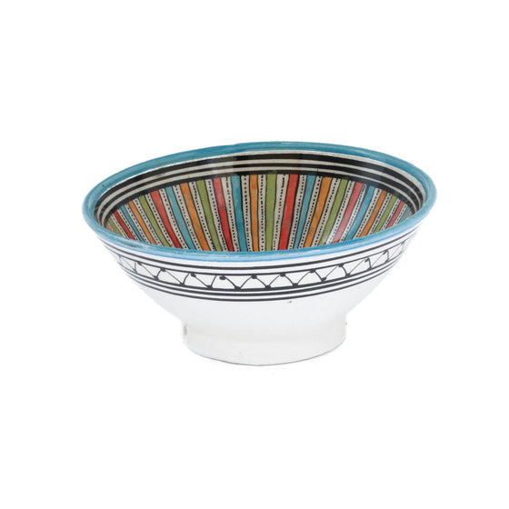 Sahara Serving Bowl, Blue Small - House of Morocco