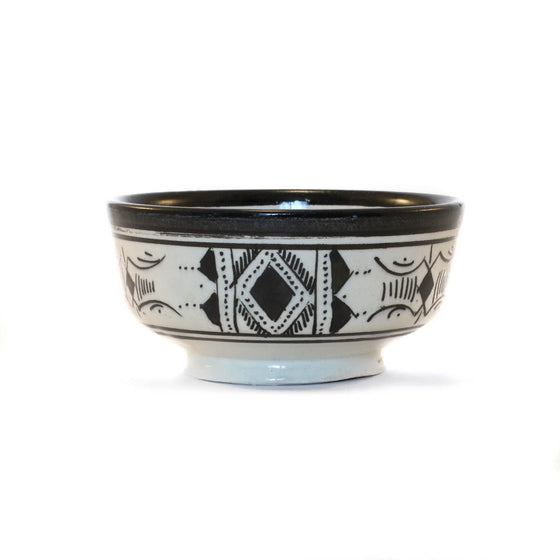 Atlas Bowl, Black - House of Morocco