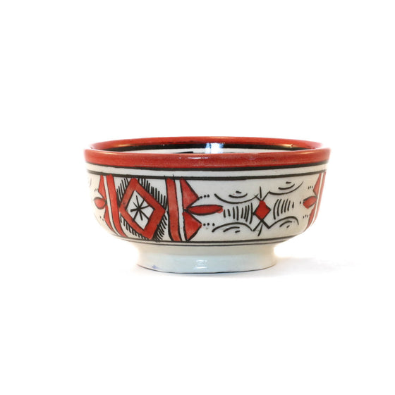 Atlas Bowl, Orange (red) - House of Morocco