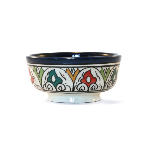 Kasbah Bowl, Blue - House of Morocco