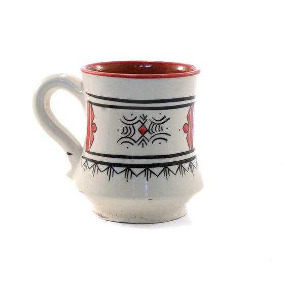 Atlas Mug, Red - House of Morocco