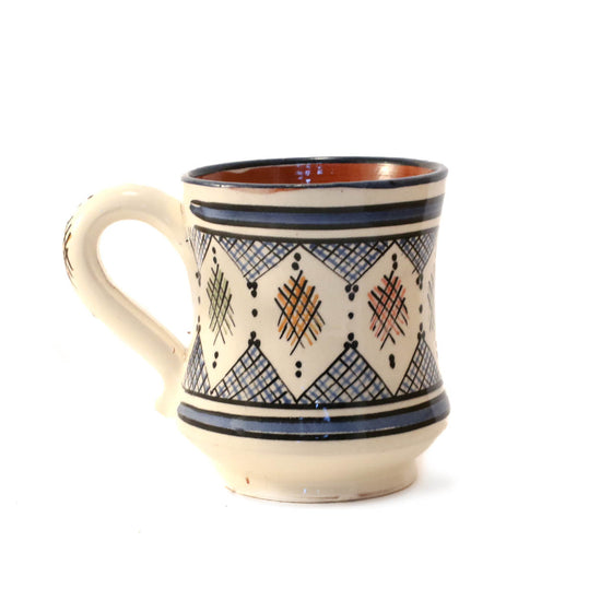 Berber Mug, Blue dark - House of Morocco