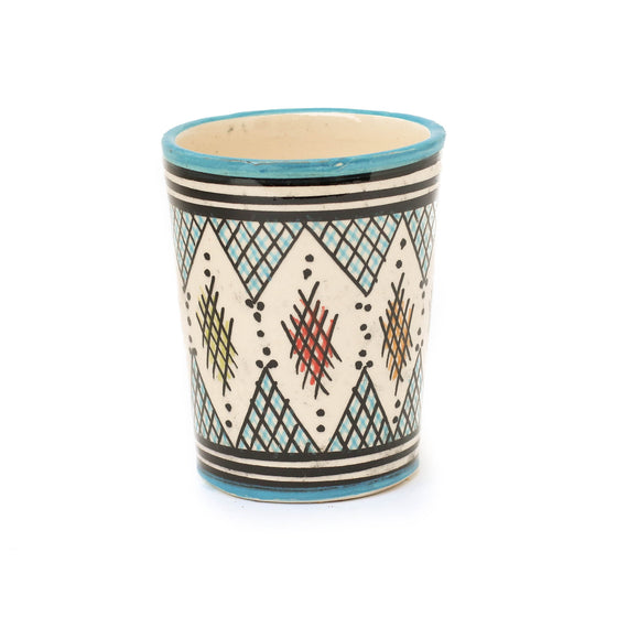 Berber Cup, Light Blue - House of Morocco