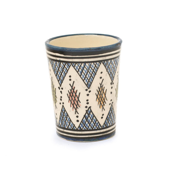 Berber Cup, Dark Blue - House of Morocco