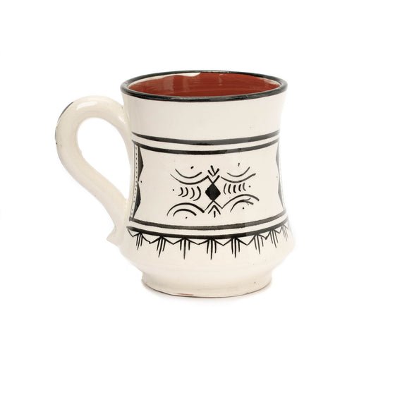Atlas Mug, Black - House of Morocco