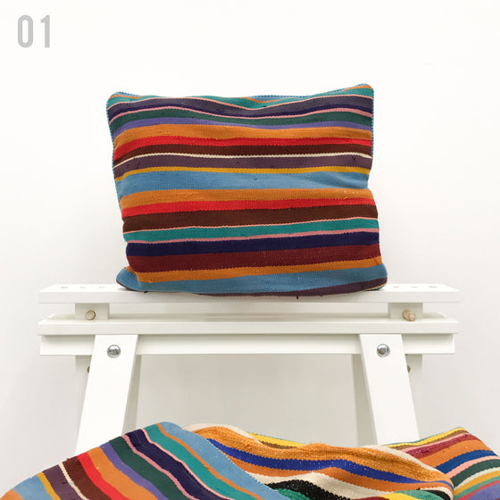 Stripe Kilim Cushion - House of Morocco