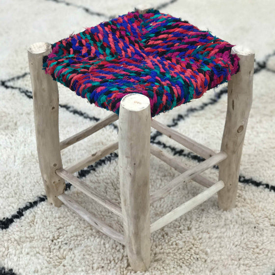 Berber Stool #07 - House of Morocco