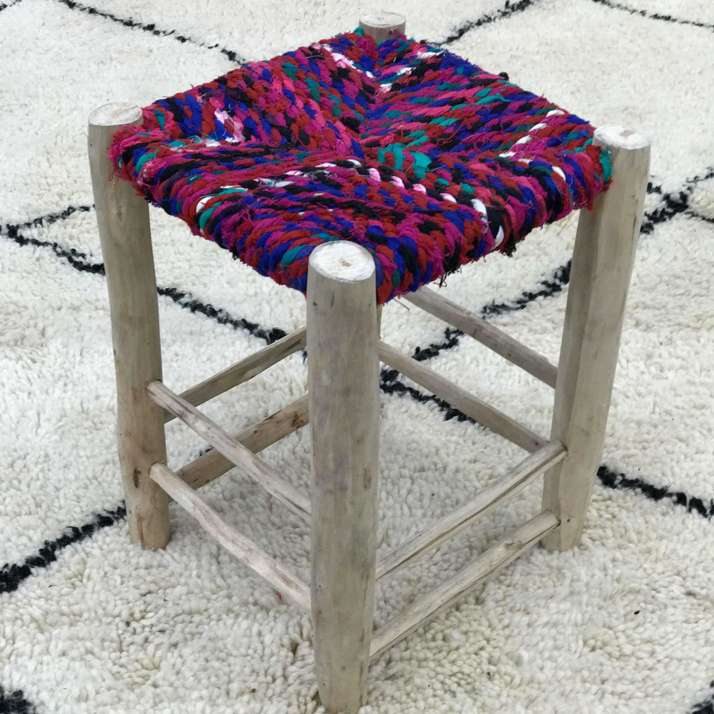 Berber Stool #04 - House of Morocco