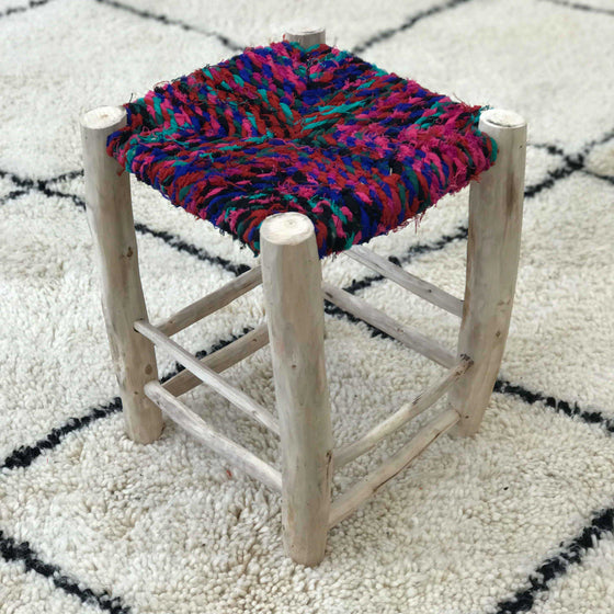 Berber Stool #06 - House of Morocco
