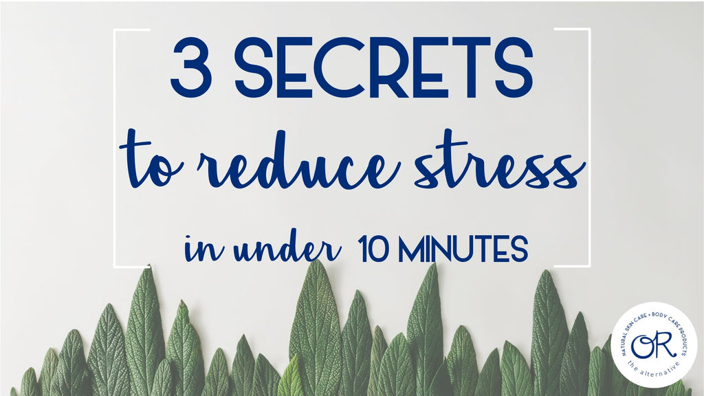 3 Secrets to Relieve Stress Quickly (in Under 10 Minutes)