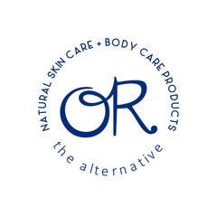 OR: the alternative logo natural skin care body care product