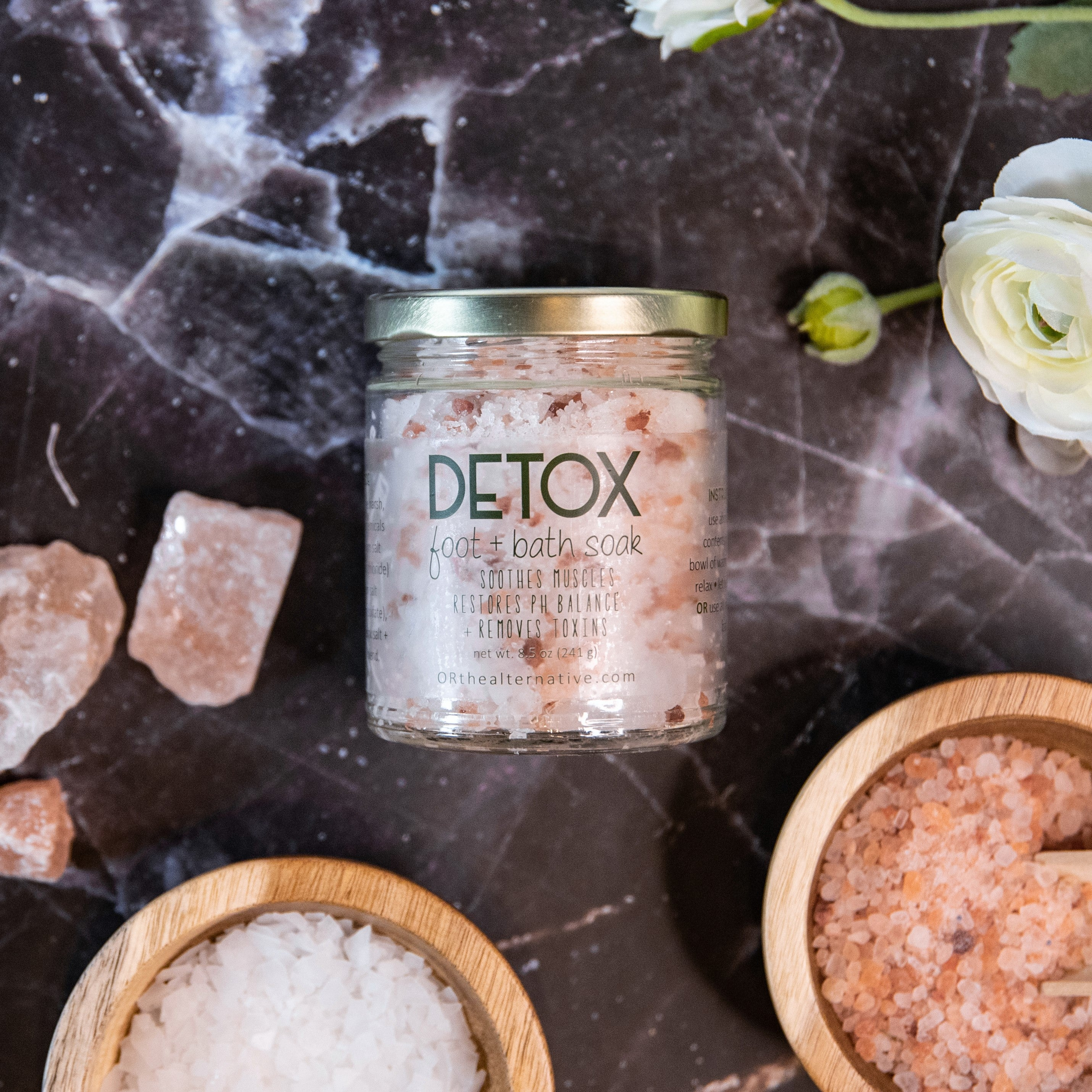 DETOX foot + bath soak