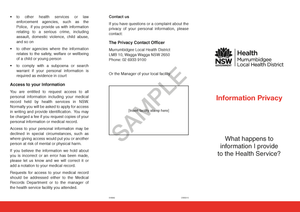518649 - Information Privacy Brochure