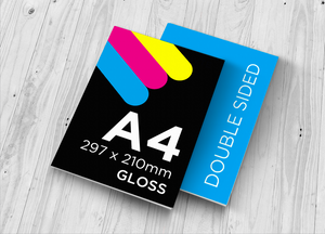 A4 Flyer - Double Sided Gloss