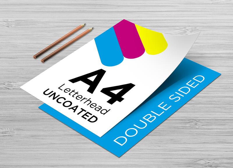 Letterheads - Double Sided