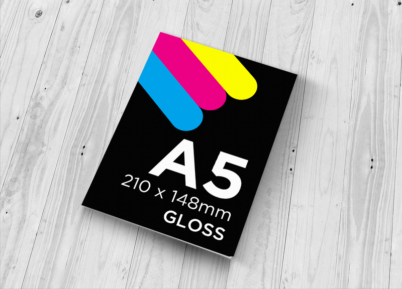 A5 Flyer - Single Sided Gloss