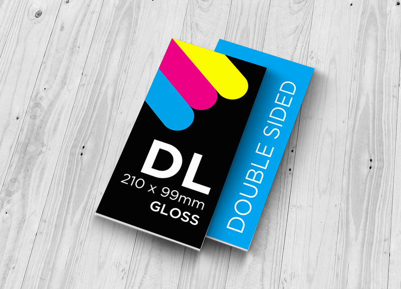 DL Flyer - Double Sided Gloss