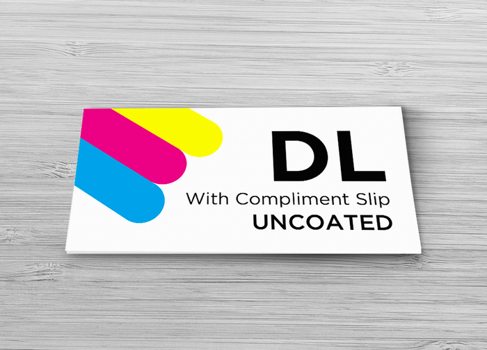 With Compliment Slip - Single Sided