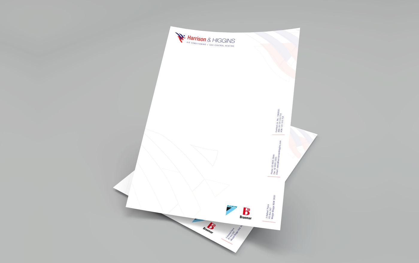Letterheads double sided chambers whyte design and print letterheads double sided thecheapjerseys Gallery