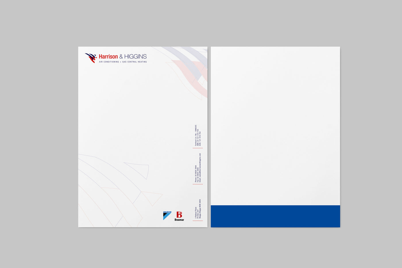 Letterheads double sided chambers whyte design and print letterheads double sided altavistaventures Images