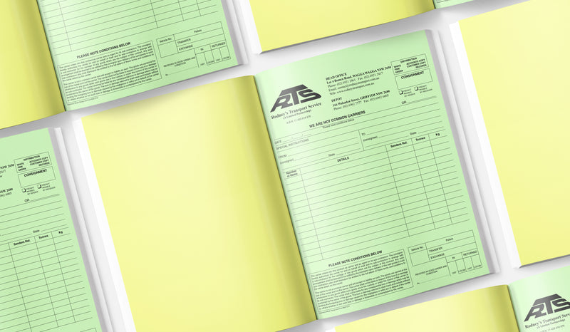 NCR Carbonless Books and Pads