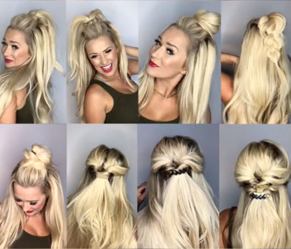 Gorgeous Half Up Hairstyles with Pony-O