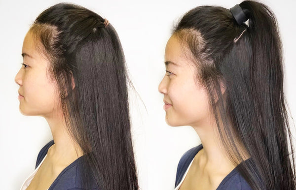 Half up Hairstyle with Pony-O vs Hair Ties