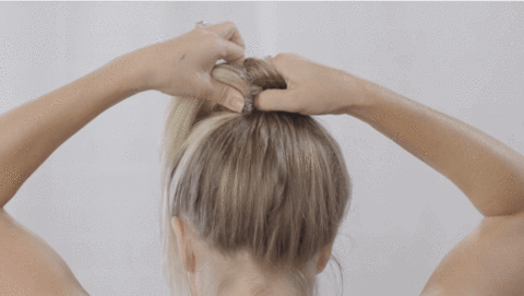 The perfect ponytail for short hair