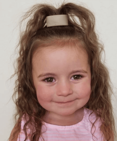 perfect ponytail for kids