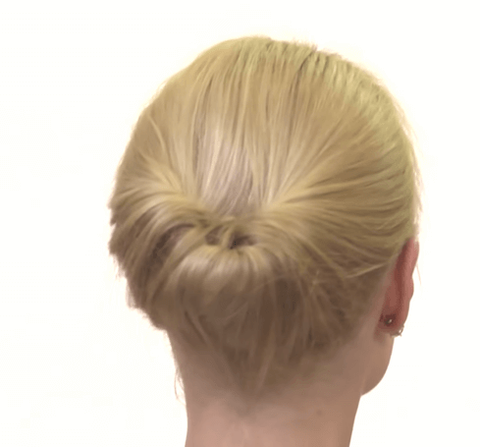 Ponytail ideas for people with bangs